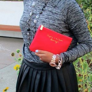 Rebecca Minkoff x Nordstrom's #nordygirl red pouch